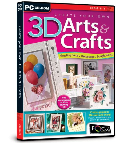Create Your Own 3D Arts and Crafts (PC)