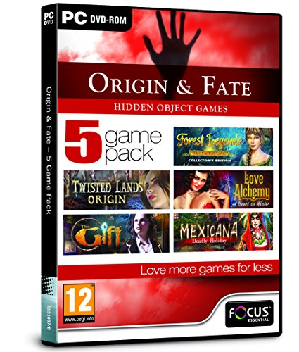 Origin and Fate - 5 Game Pack (PC DVD)