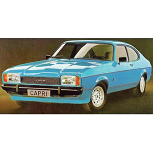 Ford Capri Mk II 1974 Bright Blue