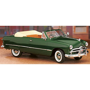 Ford custom convertible 1949 - Green 1:24