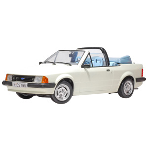 ford Escort Mk3 GI Cabriolet 1984 Diamond White
