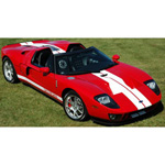 ford GTX1 2005 Red/White