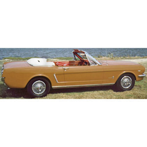 ford Mustang Convertible 1964 Gold