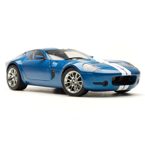 ford Shelby GR1 concept 2005 - Blue/white 1:18