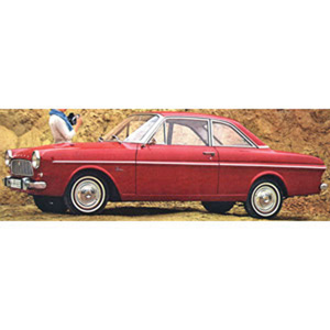 ford Taunus 12M Coupe 1962 Red