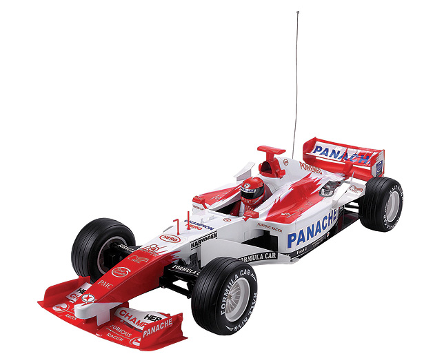 1 Racing Car Red and White