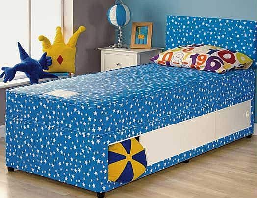 Oscar Single Headboard - Blue