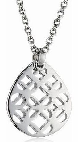 JF00426040 Ladies Iconic Silver Drop Pendant