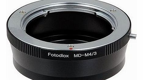 Lens Mount Adapter, Minolta MD, MC, Rokkor Lens to MFT Micro 4/3 Four Thirds System Camera Mount Adapter, for Olympus Pen E-PL1, E-P2, Panasonic Lumix DMC-G1, G2, GH2, GF1, GH1 G10