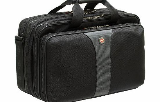 Wenger WA-7653-14 Legacy Triple Laptop Case for up to 17 Inch Notebooks with Checkpoint Friendly Compartment