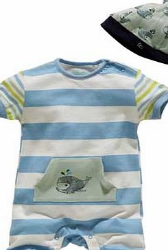 Frenh Connection French Connection Wide Stripe Baby 2 piece Gift