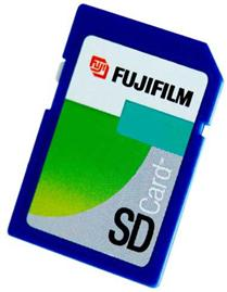 Fuji 512MB SecureDigital Card