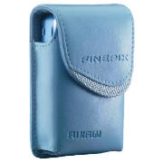 Fuji digital compact camera case Blue
