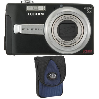 Finepix J50 Black Compact Camera with Bag