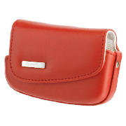 Fujifilm Z20 Leather Case - Red