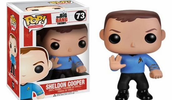 Funko Big Bang Theory Pop Television Sheldon Cooper Star