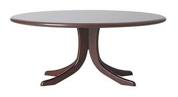 Balmoral Oval Coffee Table