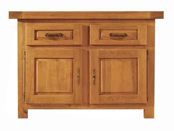 Brittany Oak Small Sideboard - FREE NEXT DAY