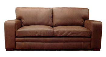 Bronx Leather 2.5 Seater Sofabed