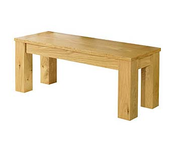 Calla Oak Bench - FREE NEXT DAY DELIVERY