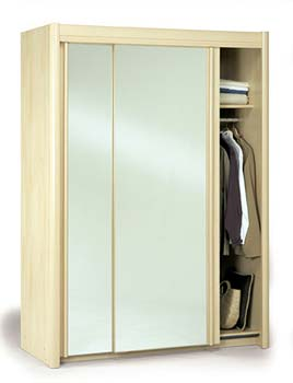 Beech mirror for Furniture 123 wardrobes