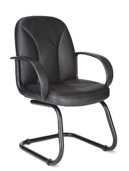 Furniture123 Contract Leather 2284 Visitor Office Chair