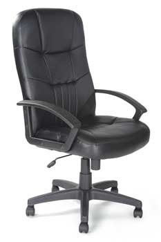 Furniture123 Contract Leather 4866 Office Chair