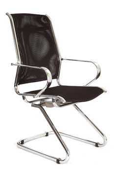 Furniture123 Designer Chrome 8003 Visitor Office Chair