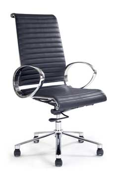 Furniture123 Designer Chrome 8005 Office Chair
