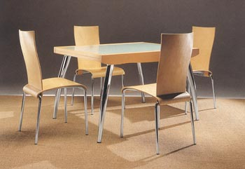 Italia BL55 Extendable Dining Table