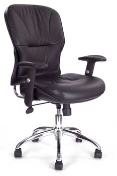 Furniture123 Italian Leather 2500 Office Chair