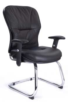 Furniture123 Italian Leather 2504 Office Chair