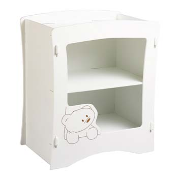 Kids Klub Teddybyes Baby Changing Unit