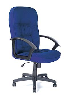 Furniture123 King 300 Fabric Managers Chair