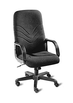 Furniture123 Knight 300 Fabric Managers Chair