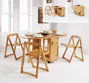 Lawrence Butterfly Dining Set
