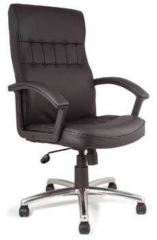 Furniture123 Leather Classic 2004 Office Chair