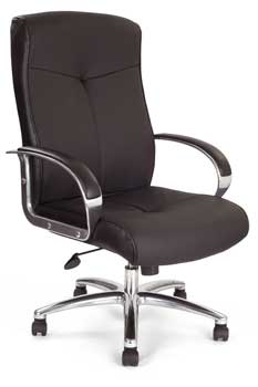 Furniture123 Leather Deluxe 0495 Office Chair