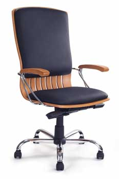 Leather Deluxe 9000 Office Chair