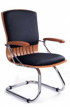 Furniture123 Leather Deluxe 9003 Office Chair
