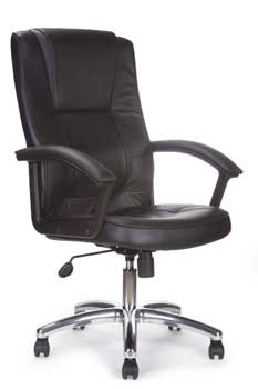 Furniture123 Leather Executive 6095 Office Chair