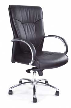 Furniture123 Luxury Leather 1924 Office Chair