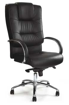 Furniture123 Luxury Leather 1931 Office Chair