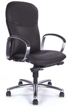 Furniture123 Luxury Leather 2311 Office Chair