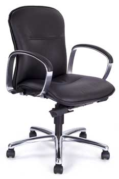 Furniture123 Luxury Leather 2312 Office Chair