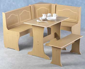 Madison Corner Dining Set