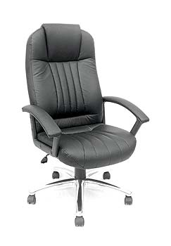 Furniture123 Monaco 300 Leather Faced Managers Chair
