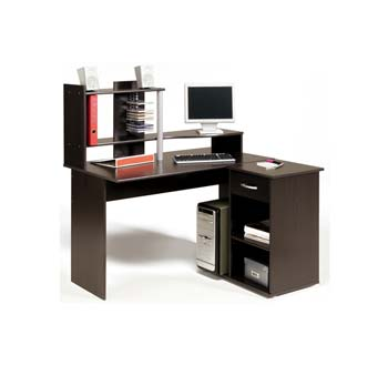 Furniture123 Moving puter Desk in Wenge review