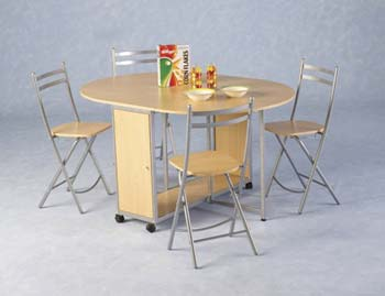 Newhaven Butterfly Extending Dining Set