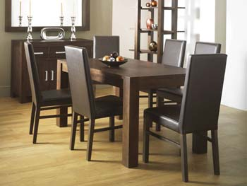 nyon walnut dining table review compare prices buy online